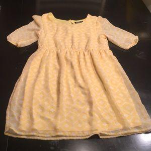 Never worn girls summer dress